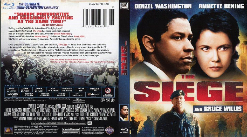 The Siege - Movie Blu-...