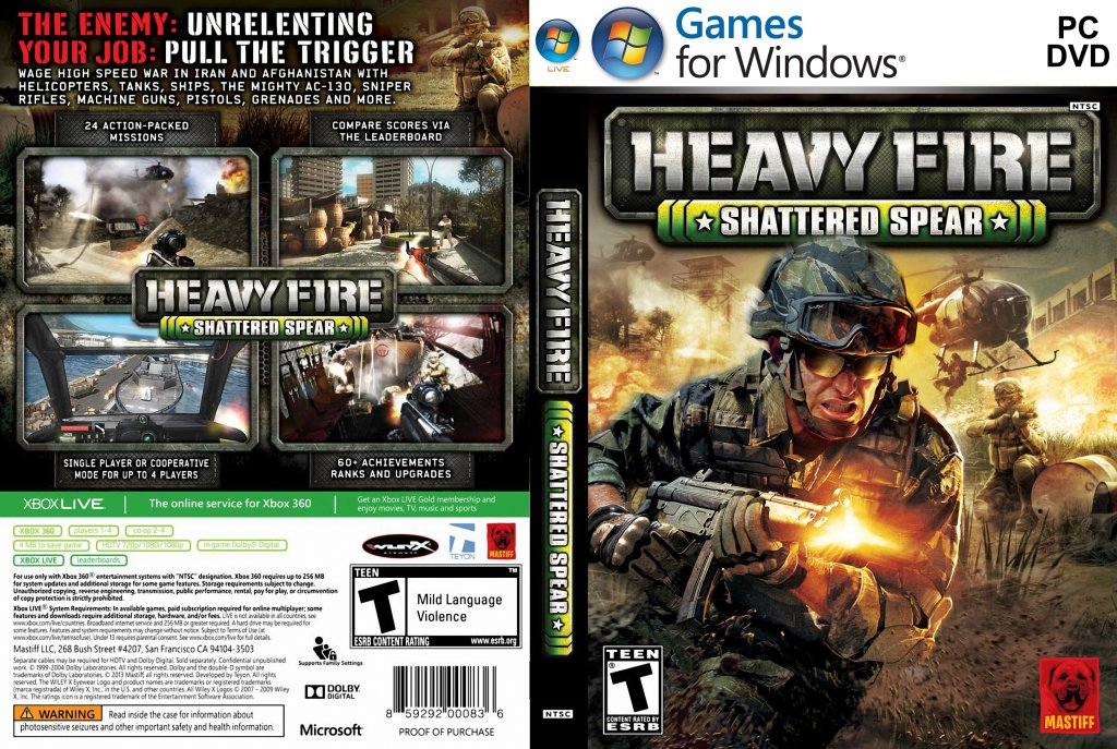 Heavy Fire : Shattered Spear PC