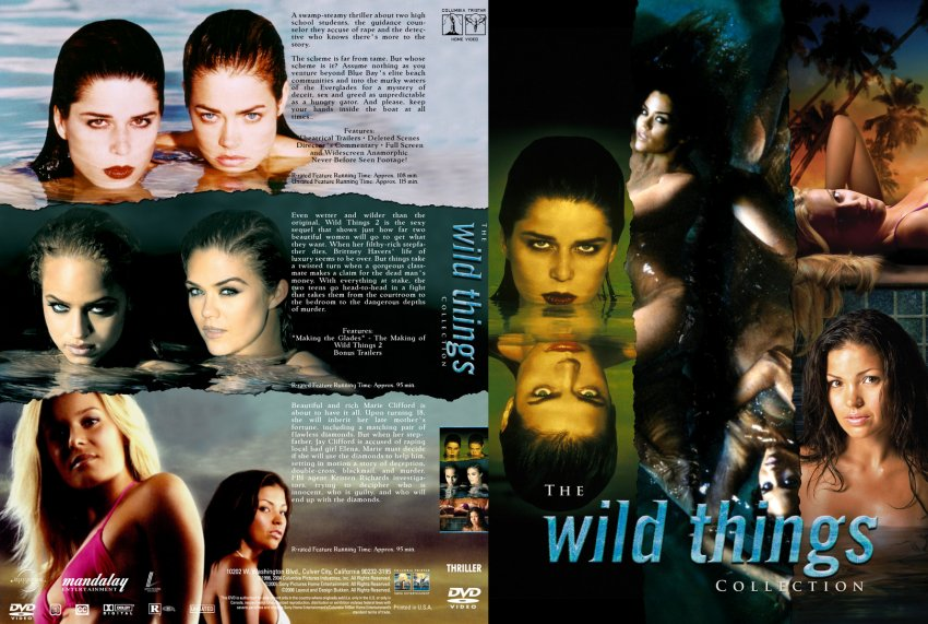 Wild Things Collection, The - Movie DVD Custom Covers ...