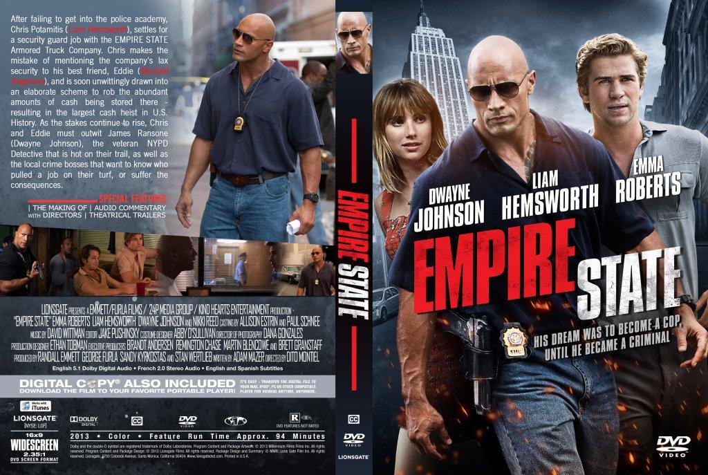 empire state empire state custom dvd cover date 10 31 2013 size    Empire State Dvd Cover