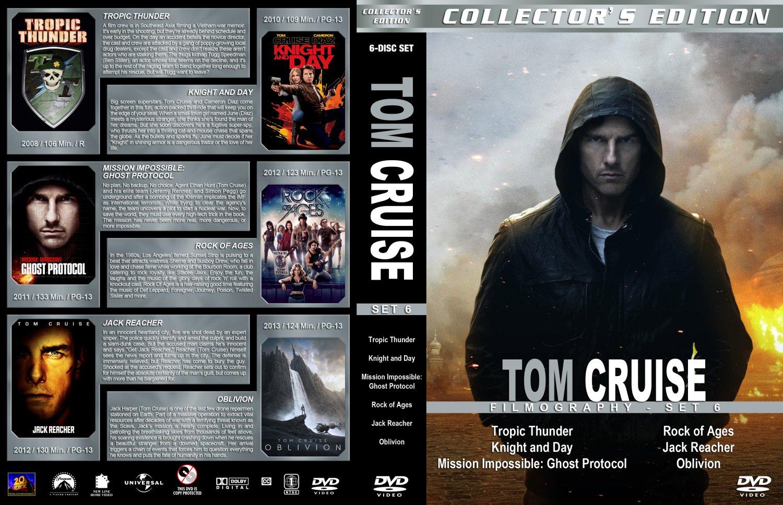 Tom Cruise Filmography...