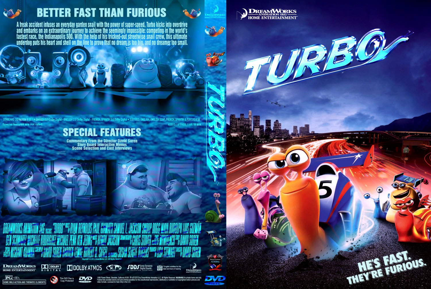 Turbo the movie on dvd - Le pierre new york