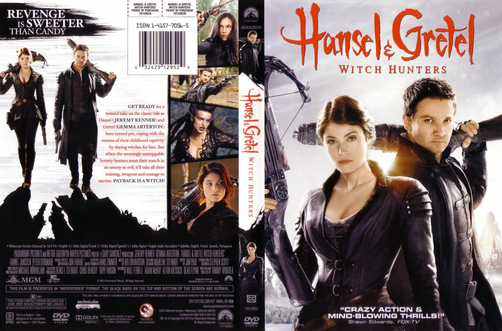 Hansel Gretel Witch Hunters Movie Dvd Scanned Covers Hansel Gretel Witch Hunters 2013 Scanned Cover Dvd Covers