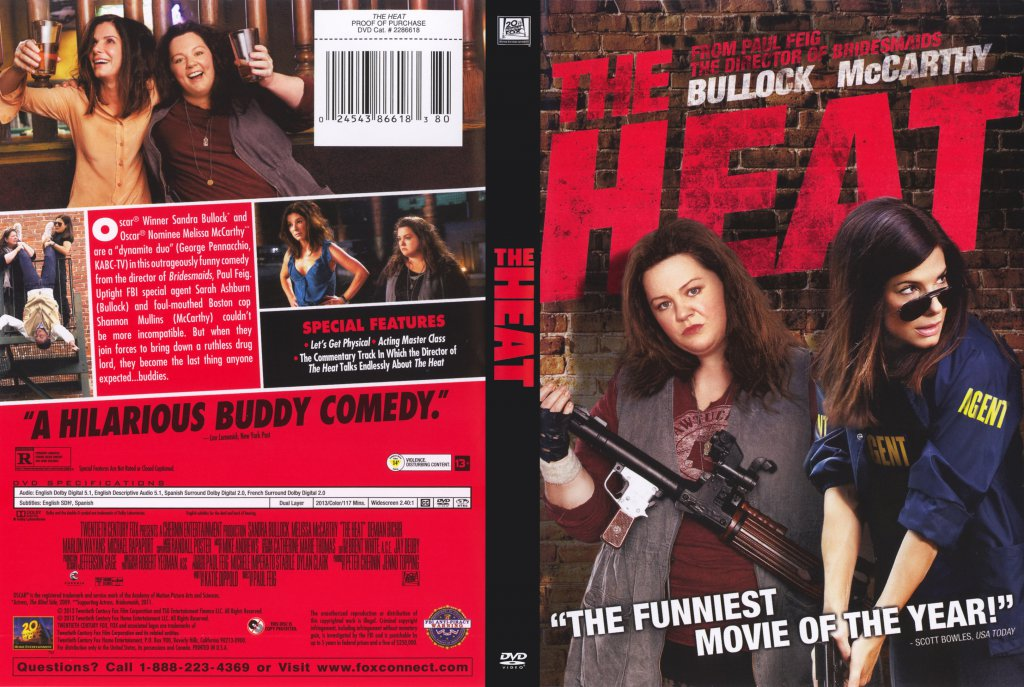 ... Movie DVD Scanned Covers - The Heat 2013 Scanned Cover :: DVD Covers