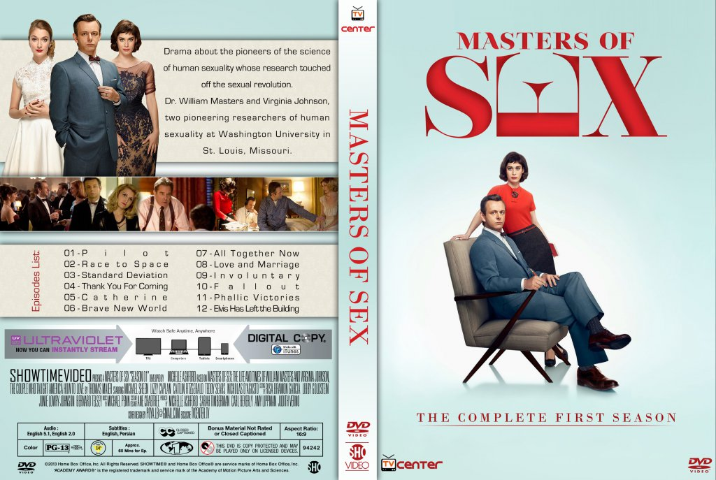 masters of sex tv dvd custom covers masters of sex