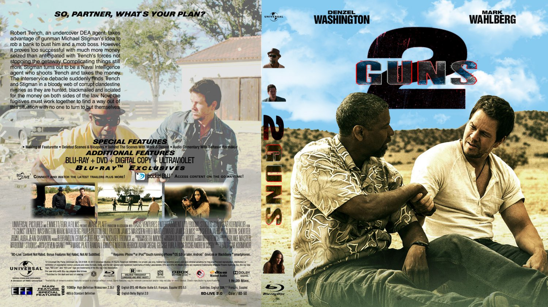 2 Guns - Movie Blu-Ray Custom Covers - 2 Guns BD :: DVD Covers2 Guns Blu Ray Cover