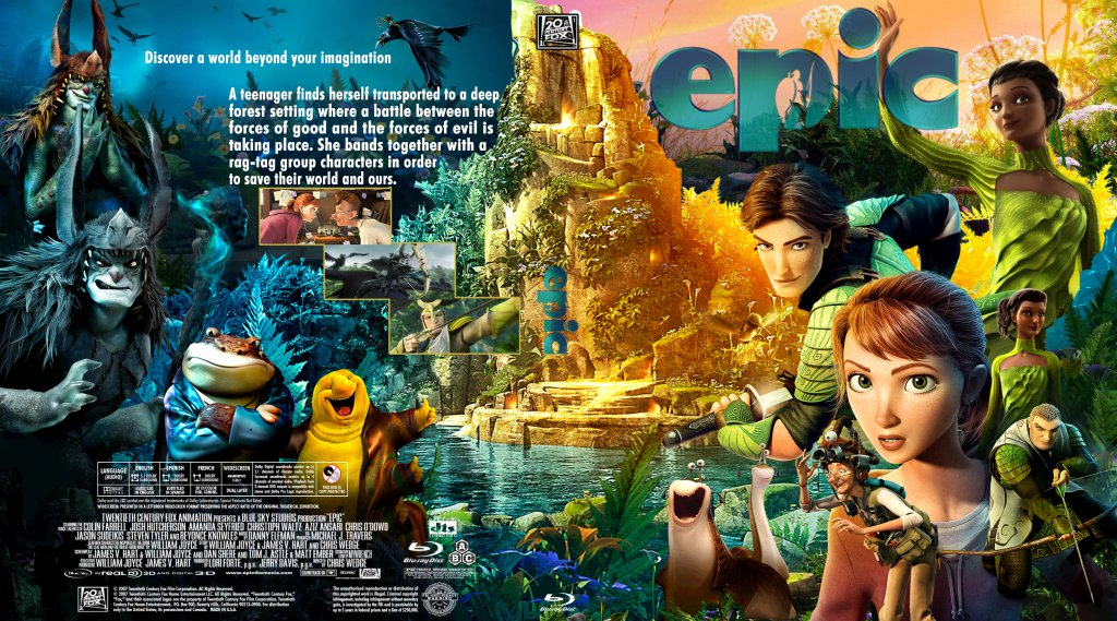 Epic Dvd Front Cover Epic - Movie Blu-Ray C...