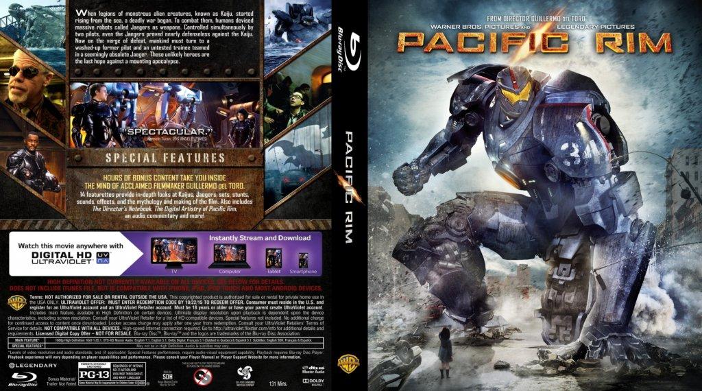 Pacific Rim - Movie Blu-Ray Custom Covers - Pacific Rim ... Pacific Rim Blu Ray Cover