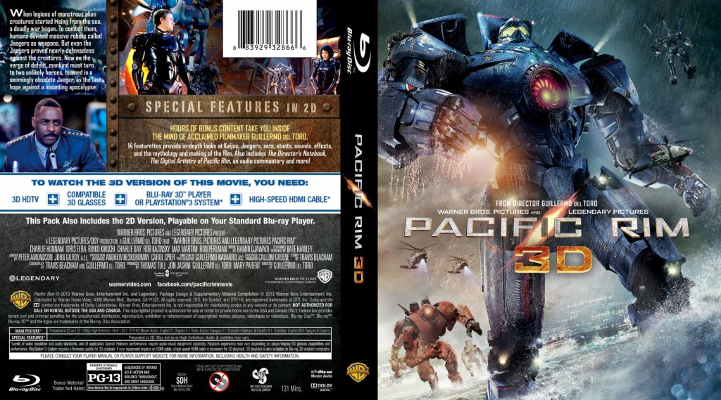 Pacific Rim 3D - Movie Blu-Ray Custom Covers - Pacific Rim ... Pacific Rim 2013 Bluray