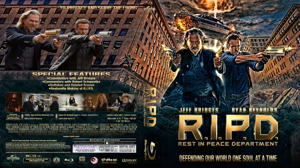 R.I.P.D. - Movie Blu-Ray Custom Covers - R I P D BD :: DVD ... R.i.p.d. Dvd