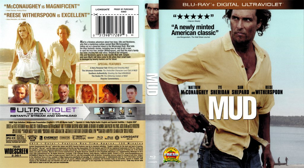 Mud Blu Ray Dvd Talk Review Of The Blu Ray