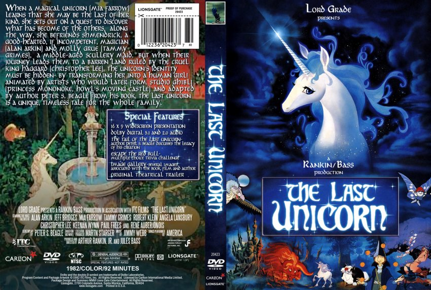 America The Last Unicorn Original Soundtrack