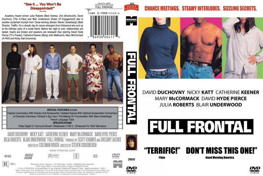Full frontal for movie