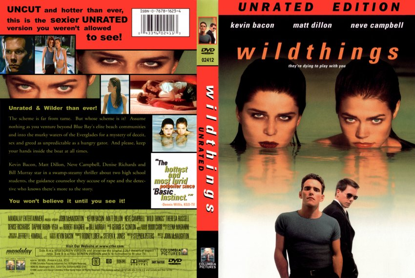 Wild Things Unrated - Movie DVD Custom Covers - 349Wild ...
