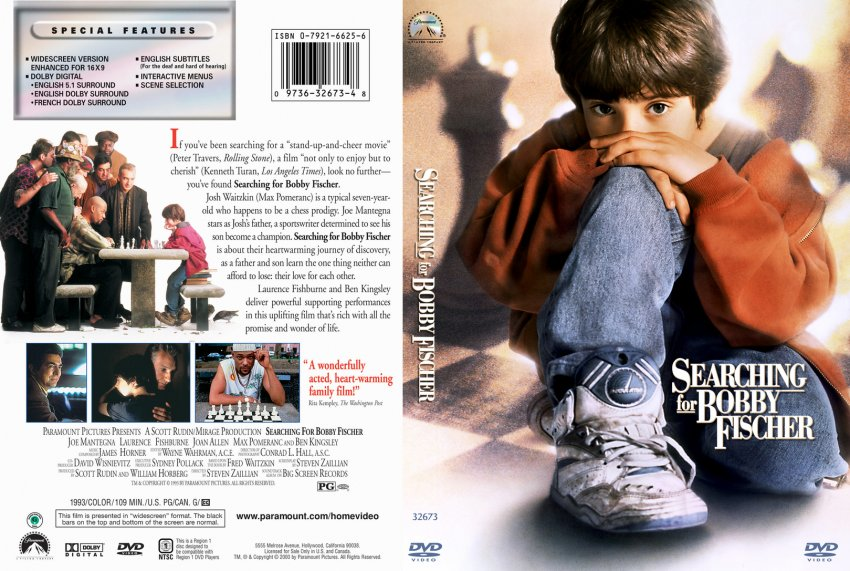 searching for bobby fischer A boy (max pomeranc) becomes a world-class chess prodigy at age seven.