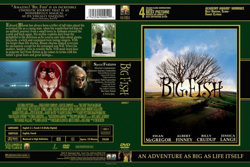 Big fish custom movie dvd custom covers 350991bigfish for Big fish movie online