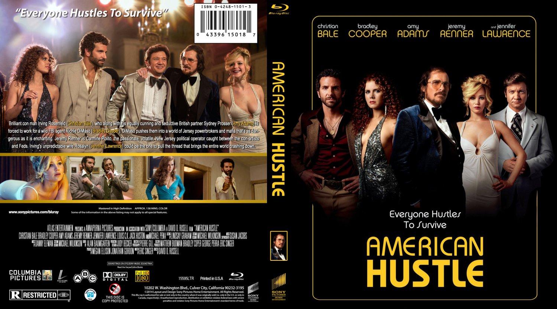 American Hustle - Movie Blu-Ray Custom Covers - american hustle br ...American Hustle Cover Art