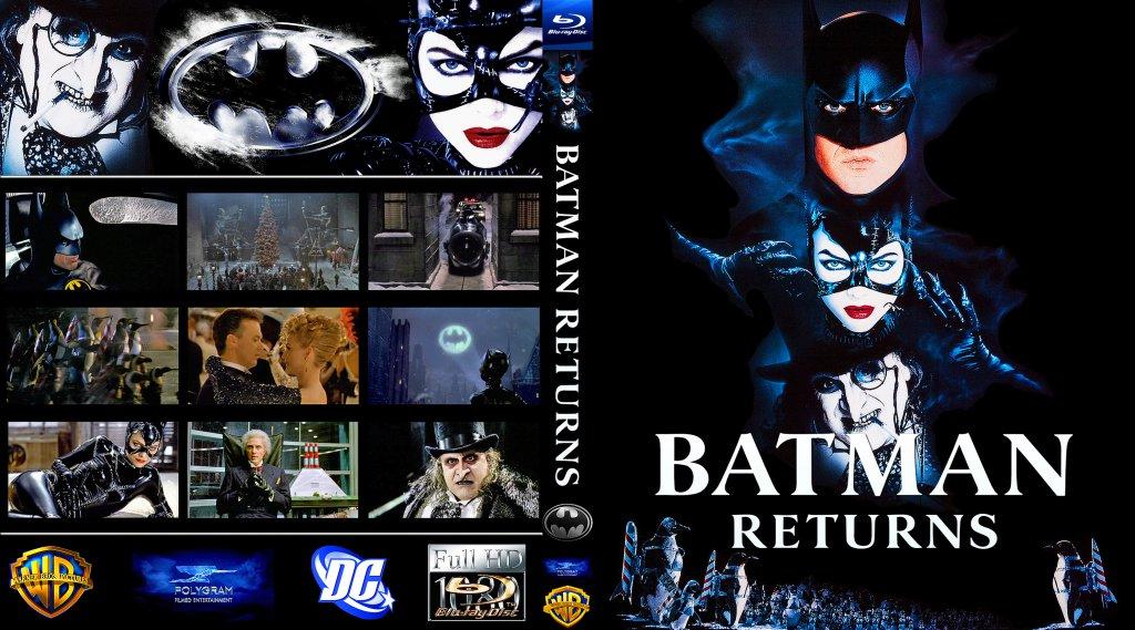 Batman Returns - Movie Blu-Ray Custom Covers - BATMAN ...