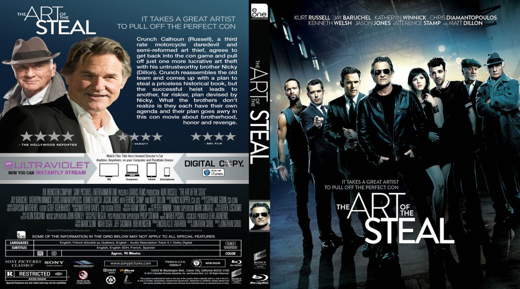 The Art Of The Steal - Movie Blu-Ray Custom Covers - The ...