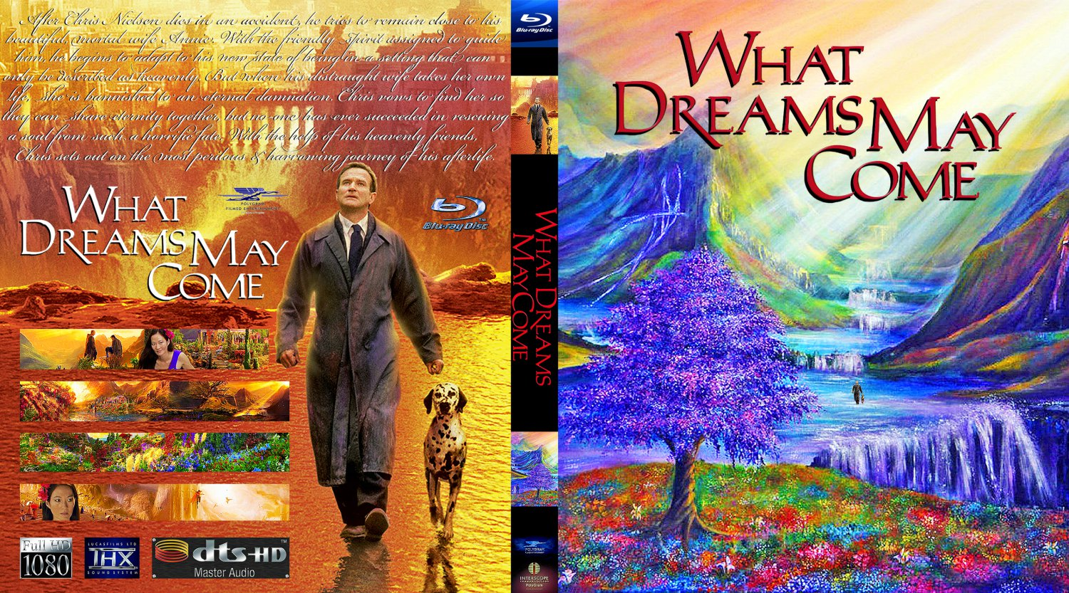 what dreams may come movie bluray custom covers what