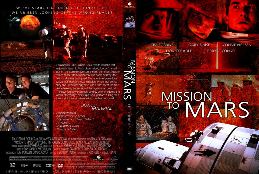 Mission to Mars - Movie DVD Custom Covers ...