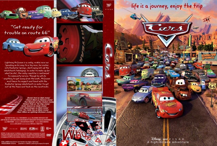 Cars 2006 Movie Dvd Custom Covers 3595carsen Dvd Covers
