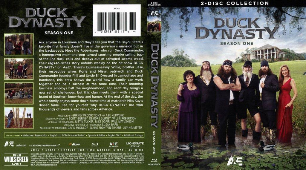 Duck Dynasty Season 1 - TV Blu-Ray Scanned Covers - Duck ...