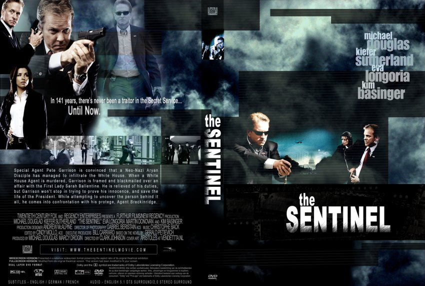 the sentinel movie dvd custom covers 3595sentinelen