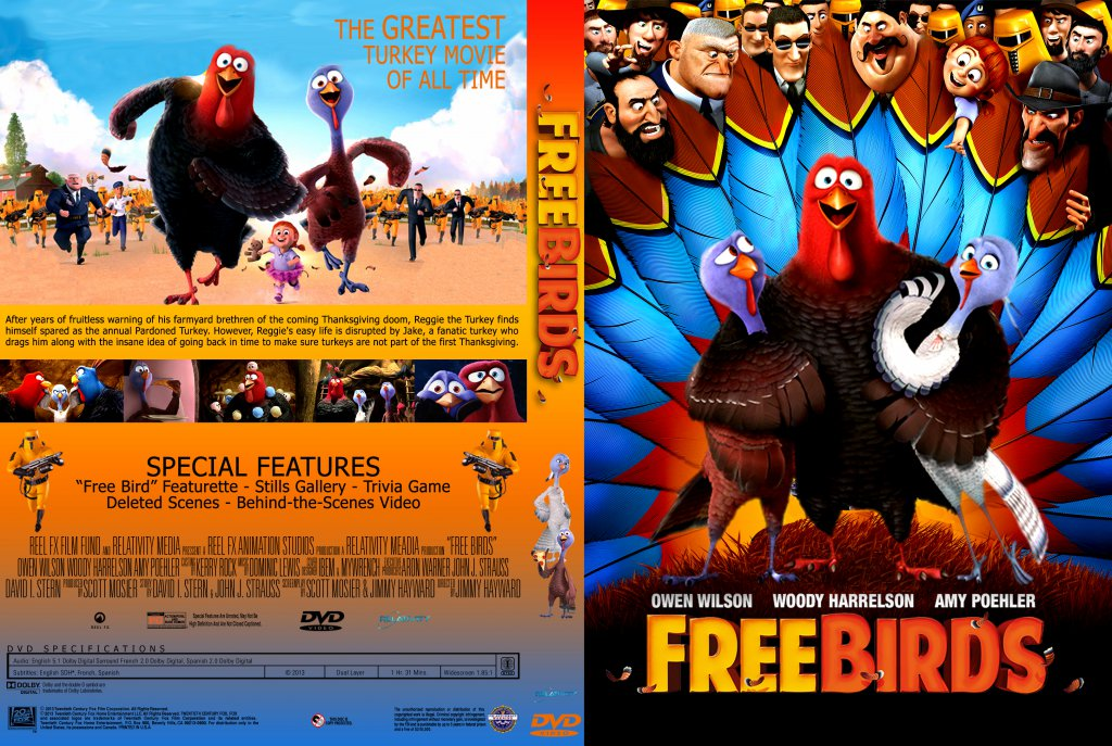 Free Birds Movie Dvd | www.pixshark.com - Images Galleries ...