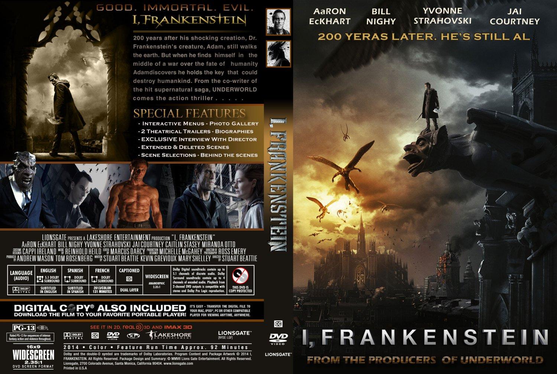 i frankenstein movie dvd custom covers i frankenstein