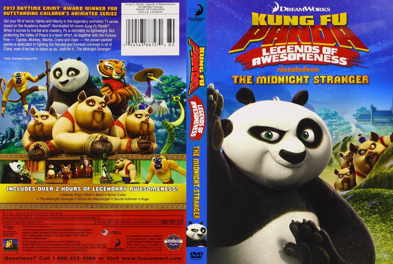 Kung Fu Panda: Legends of Awesomeness (DVD) DISC