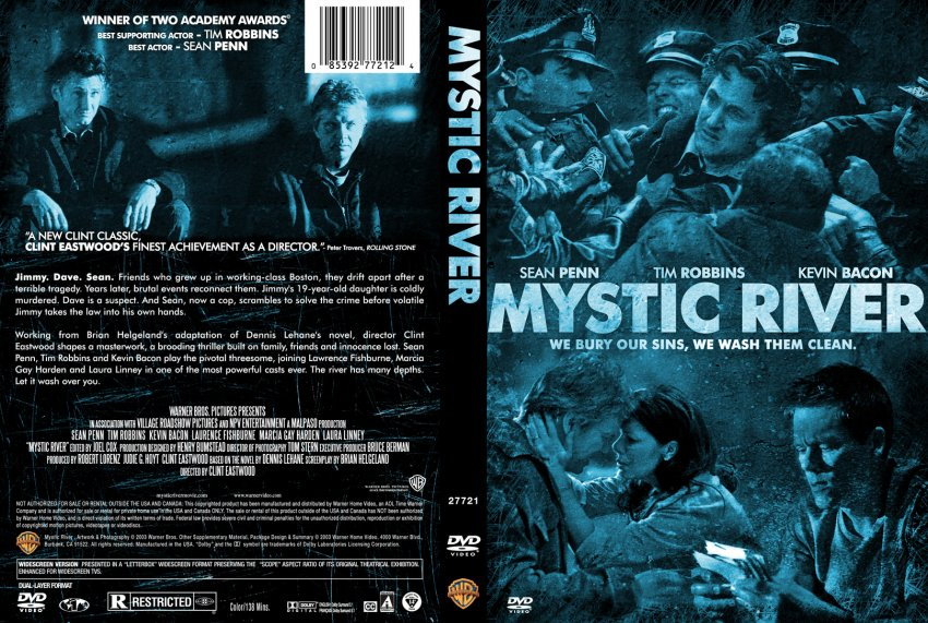 Mystic River - Movie DVD Custom Covers - 366mysticriver ...