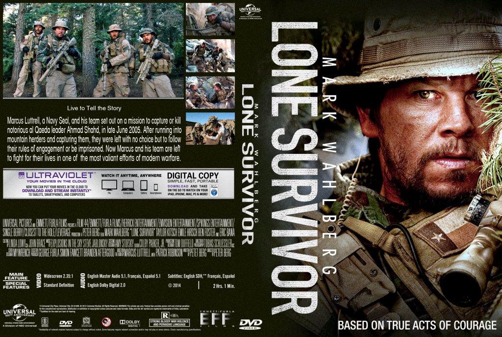 Lone Survivor - Movie DVD Custom Covers - Lone Survivor ...