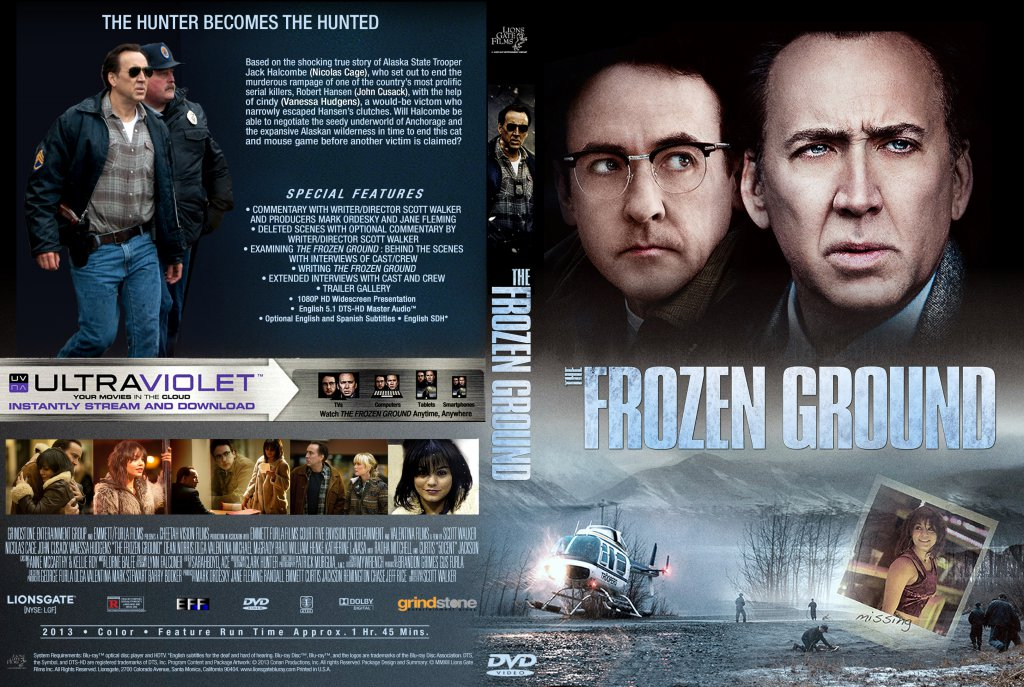 The Frozen Ground - Movie DVD Custom Covers - The Frozen ...