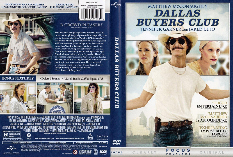 Dallas Buyers Club - Movie DVD Scanned Covers - Dallas ...  Dallas