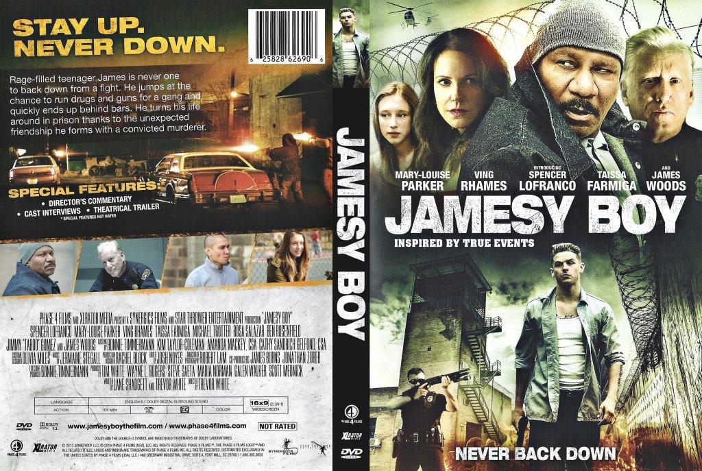 Jamesy Boy - Movie DVD Scanned Covers - Jamesy Boy 2014