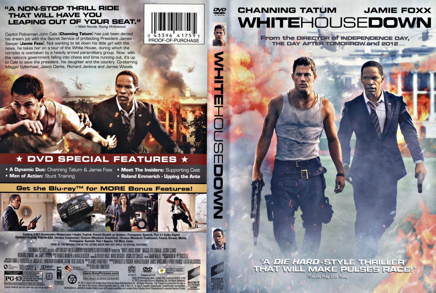 White House Down Dvd White House Down - Mov...
