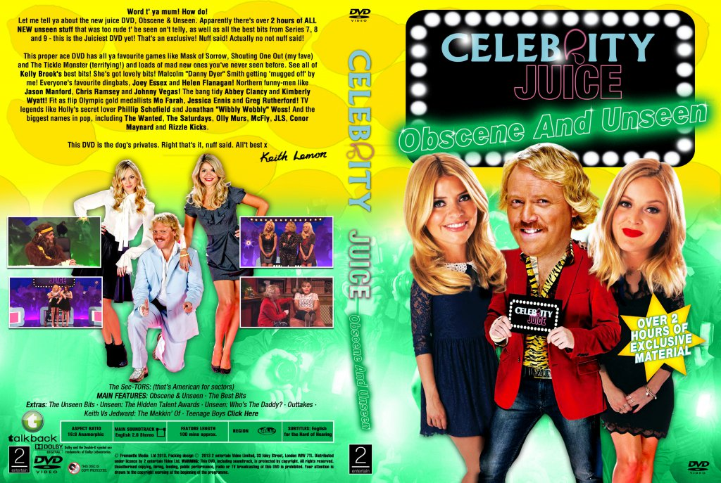 Celebrity Juice - The Bang Tidy Box Set: Too Juicy for TV ...