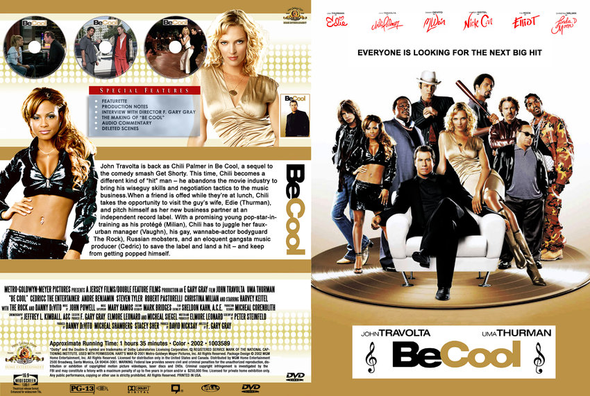 Be Cool - Movie DVD Custom Covers - 370Be Cool-Cover ...