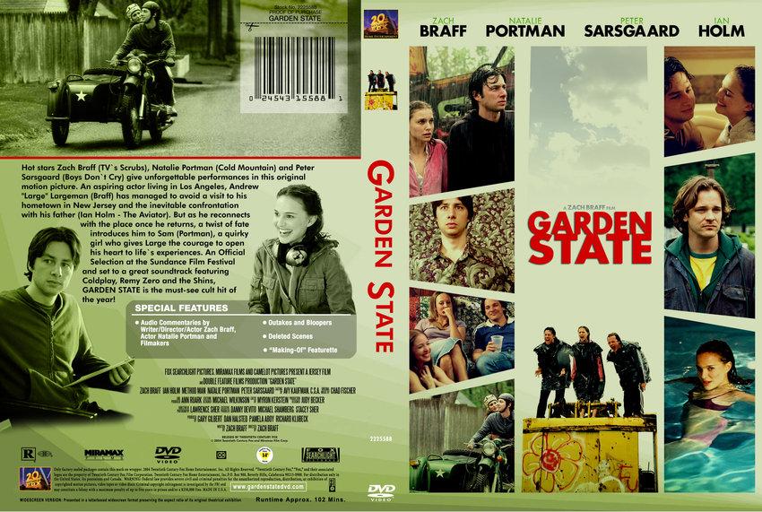 Garden State Movie Dvd Custom Covers 370garden State