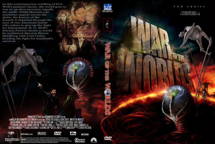 Dvd World War z War of The Worlds 2005