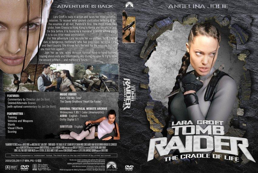 Lara Croft Tomb Raider The Cradle Of Life Movie Dvd