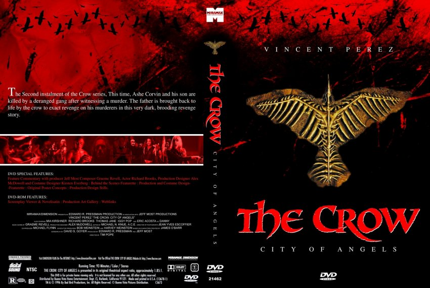 The crow city of angels logo - photo#3