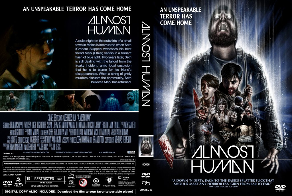 Almost Human - Movie DVD Scanned Covers - Almost Human ...