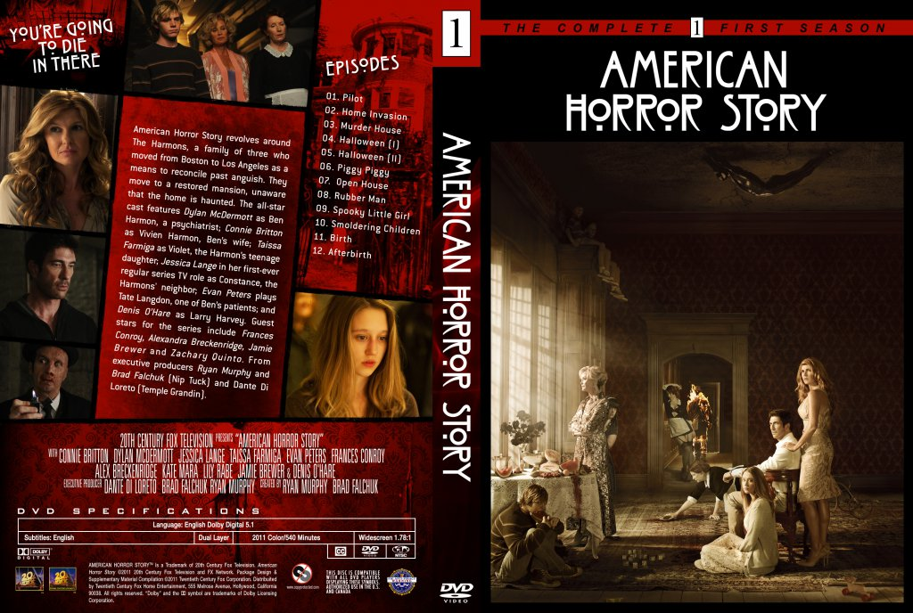American horror story season 1 cover american horror story season 1 dm