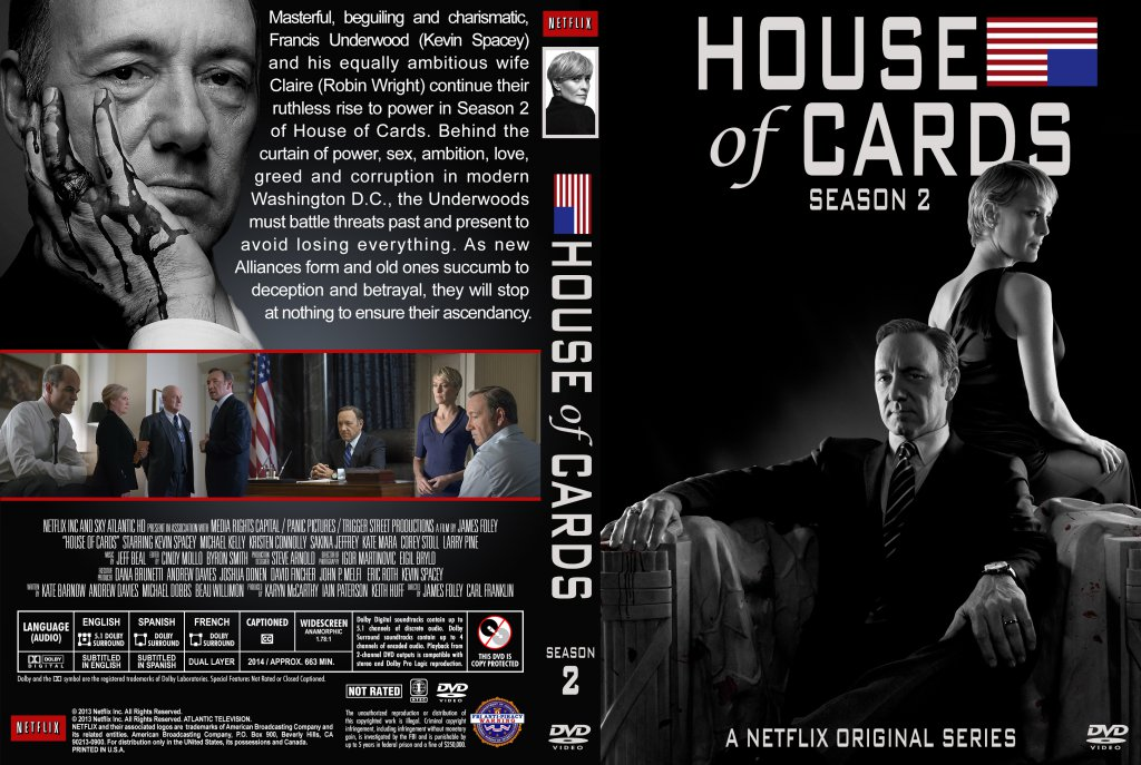 House Of Cards 2. Staffel