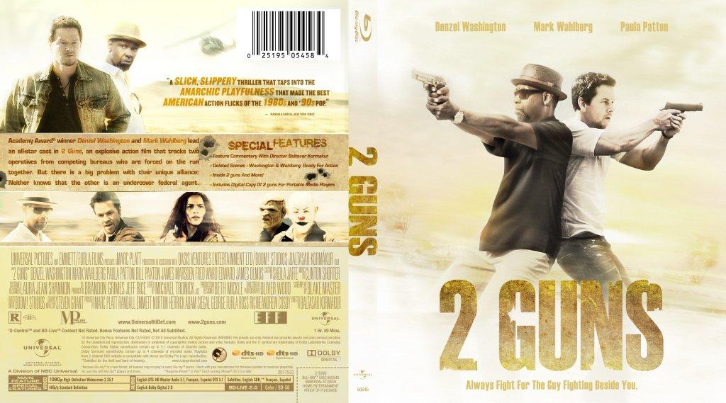 2 Guns - Movie Blu-Ray Custom Covers - 2 Guns Cstm Bluray ...2 Guns Blu Ray Cover