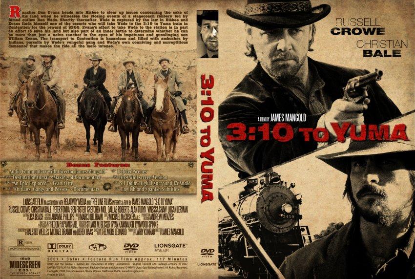 10 to yuma movie dvd custom covers 3 10 to yuma cover dvd