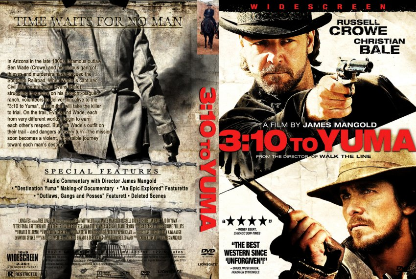 10 to yuma movie dvd custom covers 3 10 yuma dvd covers