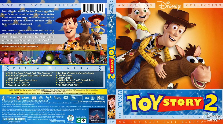 Toy Story 2 - Movie Blu-Ray Custom Covers - Toy Story 2 BR Custom ...